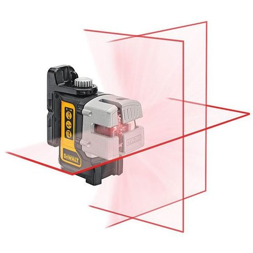 View a Larger Image of Self Leveling 3 Beam Line Laser, Model DW089K