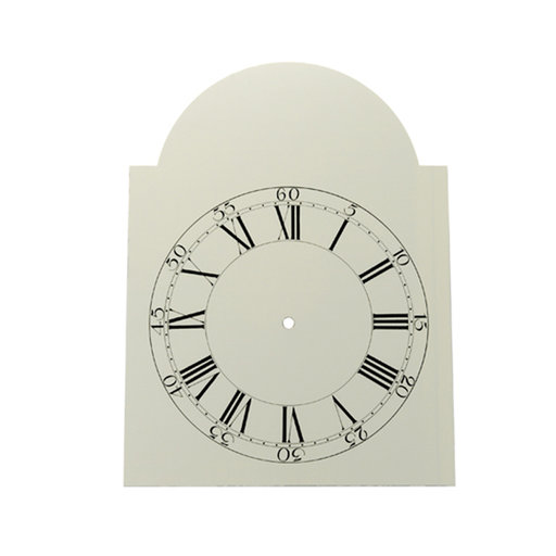 "View a Larger Image of Dial, Shaker Style, 11"" x 14-3/4"", Time Ring, 9-1/2"""