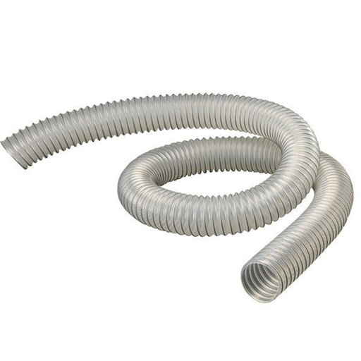 "View a Larger Image of Diameter Clear Flexthane Dust Collection Hose, 2.5"", 10 Foot Length"