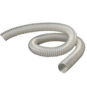 "Diameter Clear Flexthane Dust Collection Hose, 2.5"", 10 Foot Length"