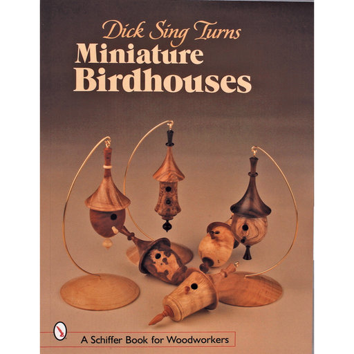 View a Larger Image of Dick Sing Turns Miniature Birdhouses
