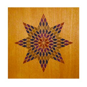 Digitalwood Marquetry Artworks DIY Kit- Betelgeusian #0106