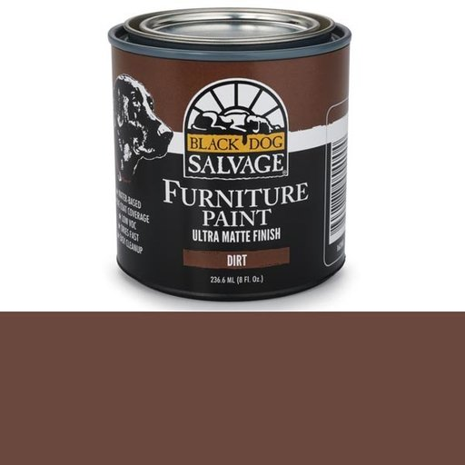 View a Larger Image of Dirt - Brown Furniture Paint, 1/2 Pint 236.6ml (8 fl. Oz.)