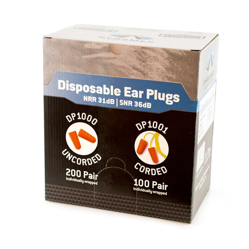 View a Larger Image of Disposable Ear Plugs (Case)