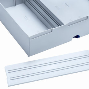 Divider for Drawer-SYS Big 2 pcs Light Grey