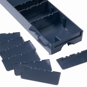 Divider for Drawer-SYS Small 10 pcs Anthracite