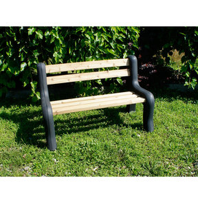 DIY Bench Ends, Black