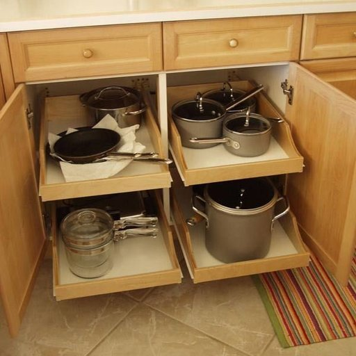 View a Larger Image of DIY Pullout Shelf Kit 20""