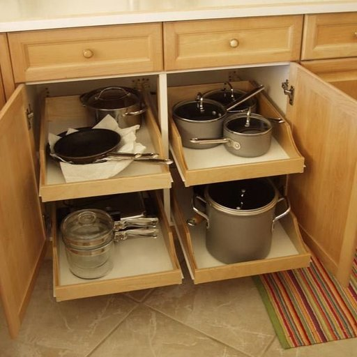 View a Larger Image of DIY Pullout Shelf Kit 22""