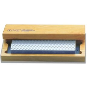 "8"" Diamond Whetstone Sharpening Stone, Coarse, with Hardwood Box"