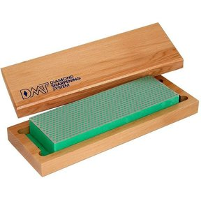 "8"" Diamond Whetstone Sharpening Stone, Extra-fine, with Hardwood Box"