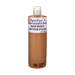 Doctor's Woodshop High Build Friction Polish 16oz