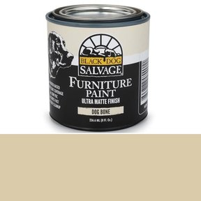 'Dog Bone' - Bone White Furniture Paint, 1/2 Pint 236.6ml (8 fl. Oz.)