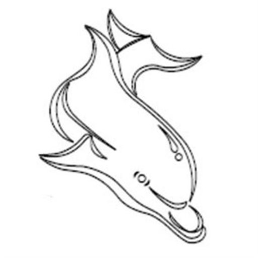 View a Larger Image of DOLPHIN TEMPLATE  - CMT Part: RCS-803