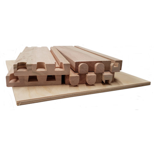 """View a Larger Image of Dovetail Drawer Boxes - 3.125""""h x 10""""w x 18""""d"""