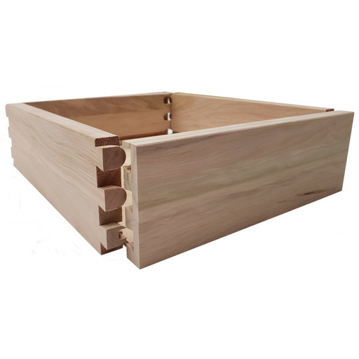 "View a Larger Image of Dovetail Drawer Boxes - 4.125""h x 12""w x 21""d"