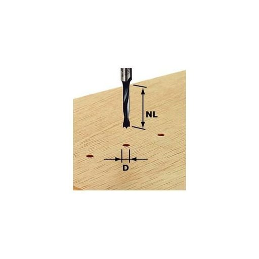 View a Larger Image of Dowel Drill HW 10X30mm
