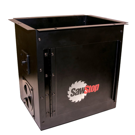 View a Larger Image of Downdraft Dust Collection Box for Router Lift