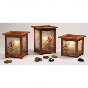Downloadable Woodworking Project Plan to Build Arts and Crafts Candle Lanterns