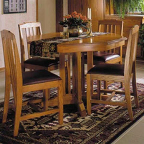 Downloadable Woodworking Project Plan to Build Arts and Crafts Table