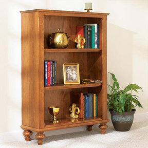 Downloadable Woodworking Project Plan to Build Build-in-a-Weekend Bookcase