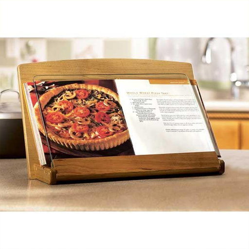 View a Larger Image of Downloadable Woodworking Project Plan to Build Cookbook Holder