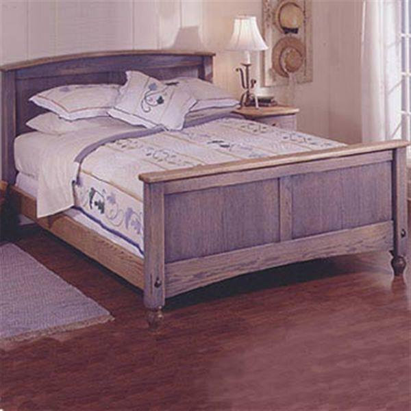 view a larger image of downloadable woodworking project plan to build country fresh bed