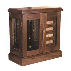 Downloadable Woodworking Project Plan to Build Jewelry Box