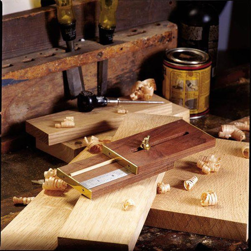 View a Larger Image of Downloadable Woodworking Project Plan to Build Marking Gauge