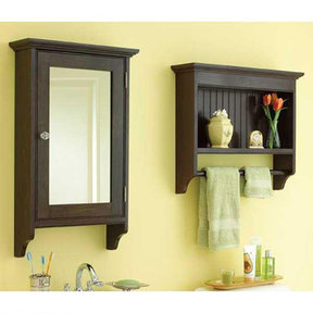 Downloadable Woodworking Project Plan to Build Matching Bathroom Cabinets
