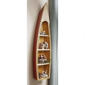 Downloadable Woodworking Project Plan to Build Nautical Shelf