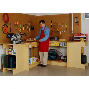 Downloadable Woodworking Project Plan to Build One-Day Workbench
