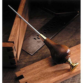 Downloadable Woodworking Project Plan to Build Scratch Awl