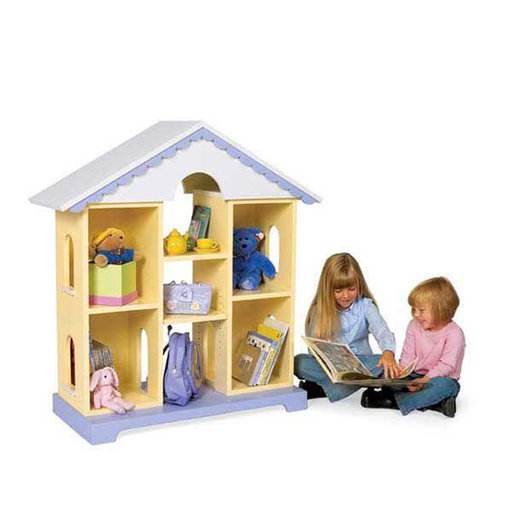 View a Larger Image of Downloadable Woodworking Project Plan to Build Storybook Storage