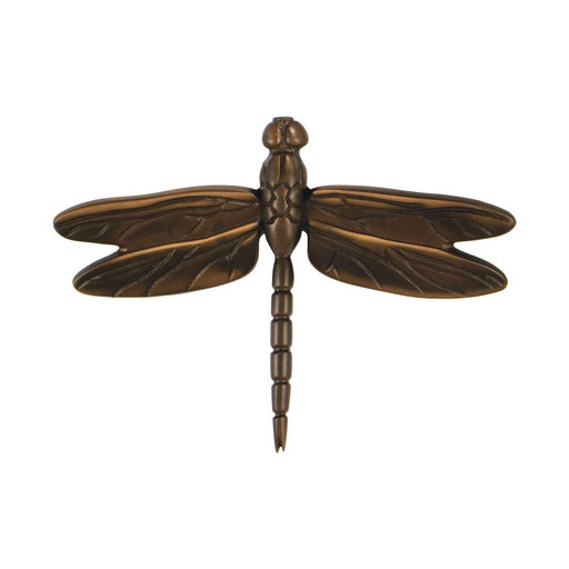 View a Larger Image of Dragonfly Door Knocker - Oiled Bronze