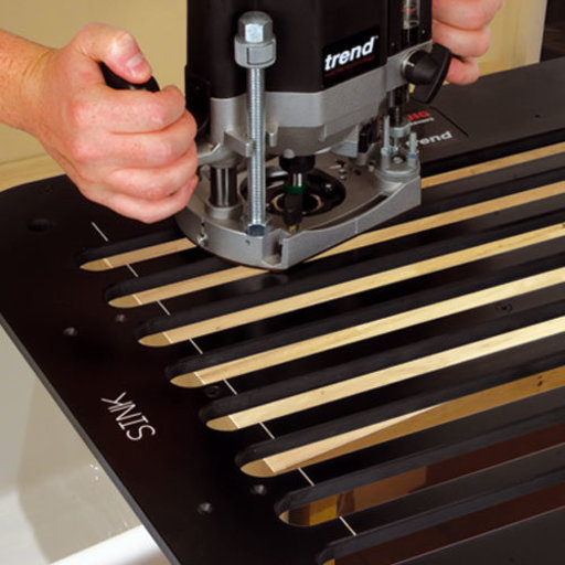 View a Larger Image of Draining Groove Jig