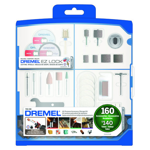 View a Larger Image of Accessory Kit with Case, 160pc