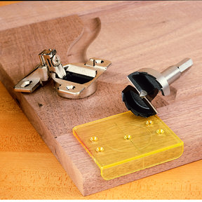 DrillRite 35mm Hinge Jig and Bit