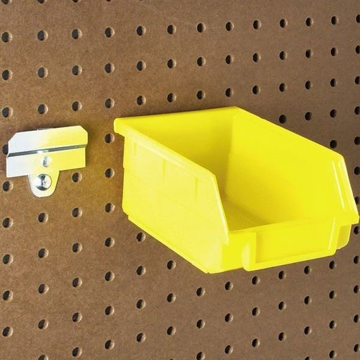 "View a Larger Image of DuraHook 7-3/8"" Bins with Bin Clips"