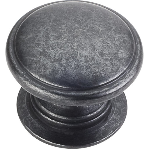 "View a Larger Image of Durham Knob, 1-1/4"" Dia.,  Gun Metal"
