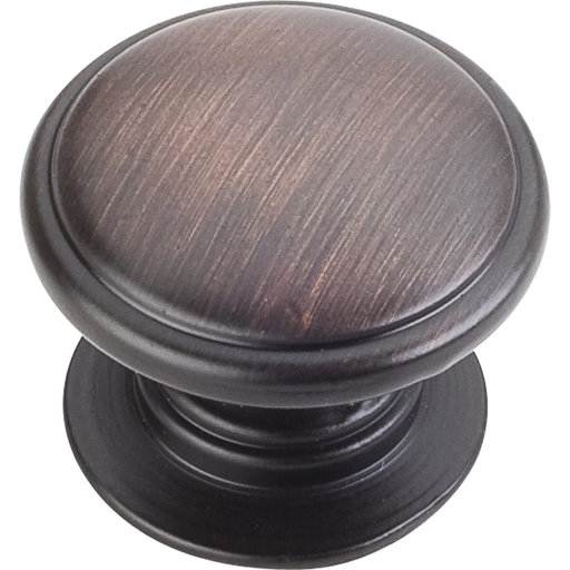 "View a Larger Image of Durham Knob, 1-1/4"" Dia.,  Brushed Oil Rubbed Bronze"