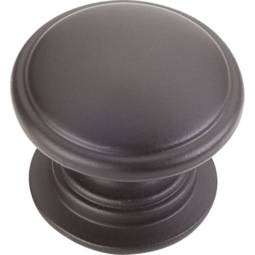 "View a Larger Image of Durham Knob, 1-1/4"" Dia.,  Dark Bronze"