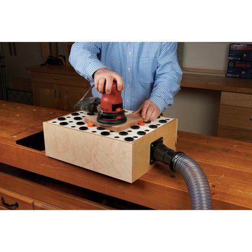 View a Larger Image of Dust Connection 2-Piece DIY Downdraft Panels with Blank Kit