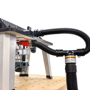 DustRouter - Router Dust Collection