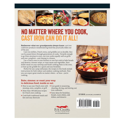 View a Larger Image of Dutch Oven & Cast Iron Cooking
