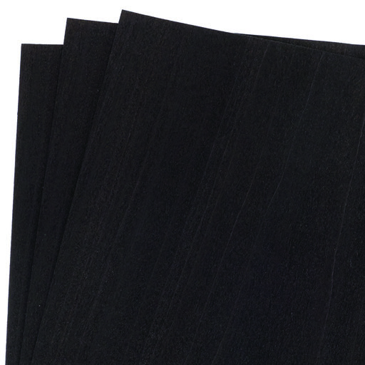 "View a Larger Image of Dyed Black Veneer 12"" x 12"" 3-piece"