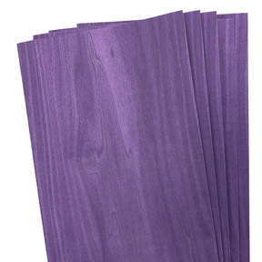 Dyed Purple Veneer 4 sq ft