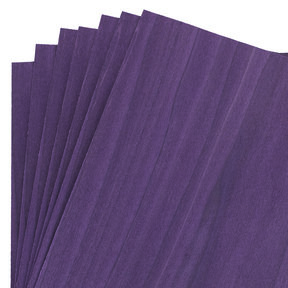 "Dyed Purple Veneer 8"" x 8"" 7-piece"