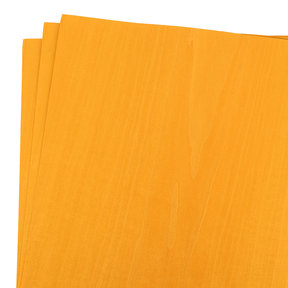 "Dyed Yellow Veneer 12"" x 12"", 3pc"