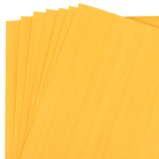 "View a Larger Image of Dyed Yellow Veneer 8"" x 8"" 7-piece"